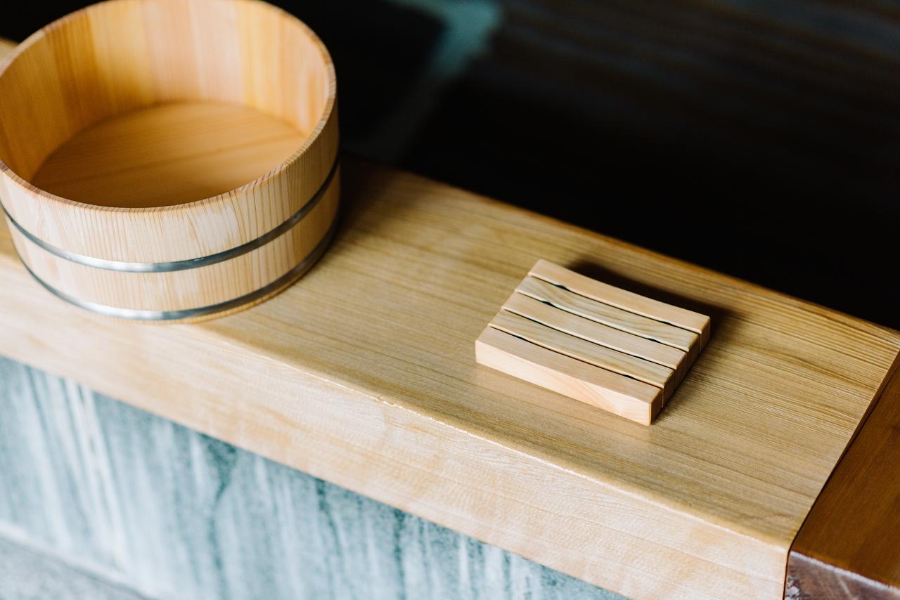 木曽の檜でつくったソープディッシュ01s-