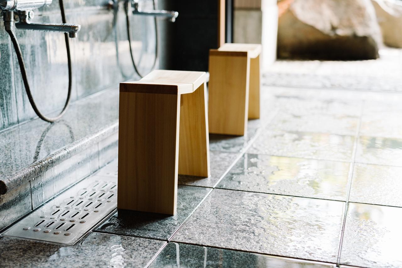 NEW木曽のヒノキでつくった風呂椅子02s-