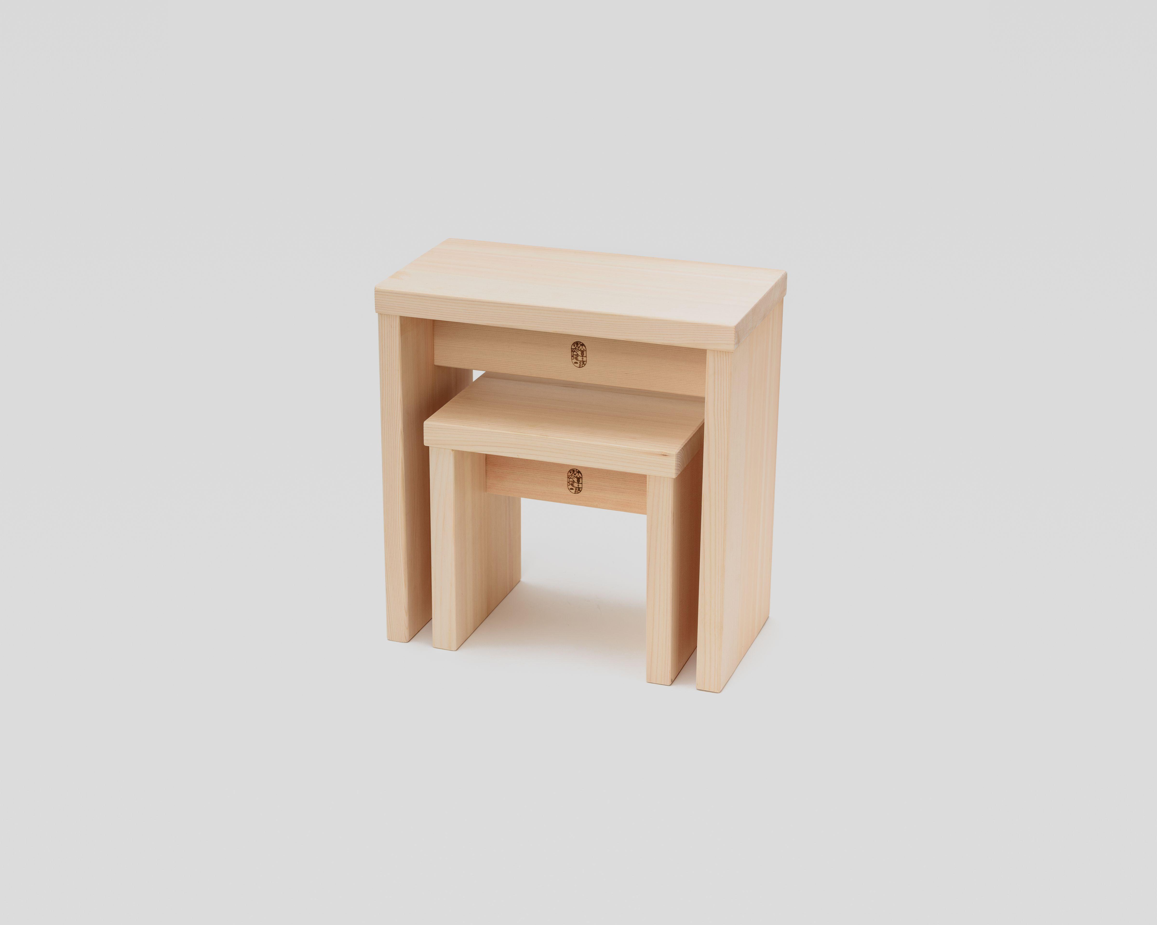 NEW木曽のヒノキでつくった親子風呂椅子03