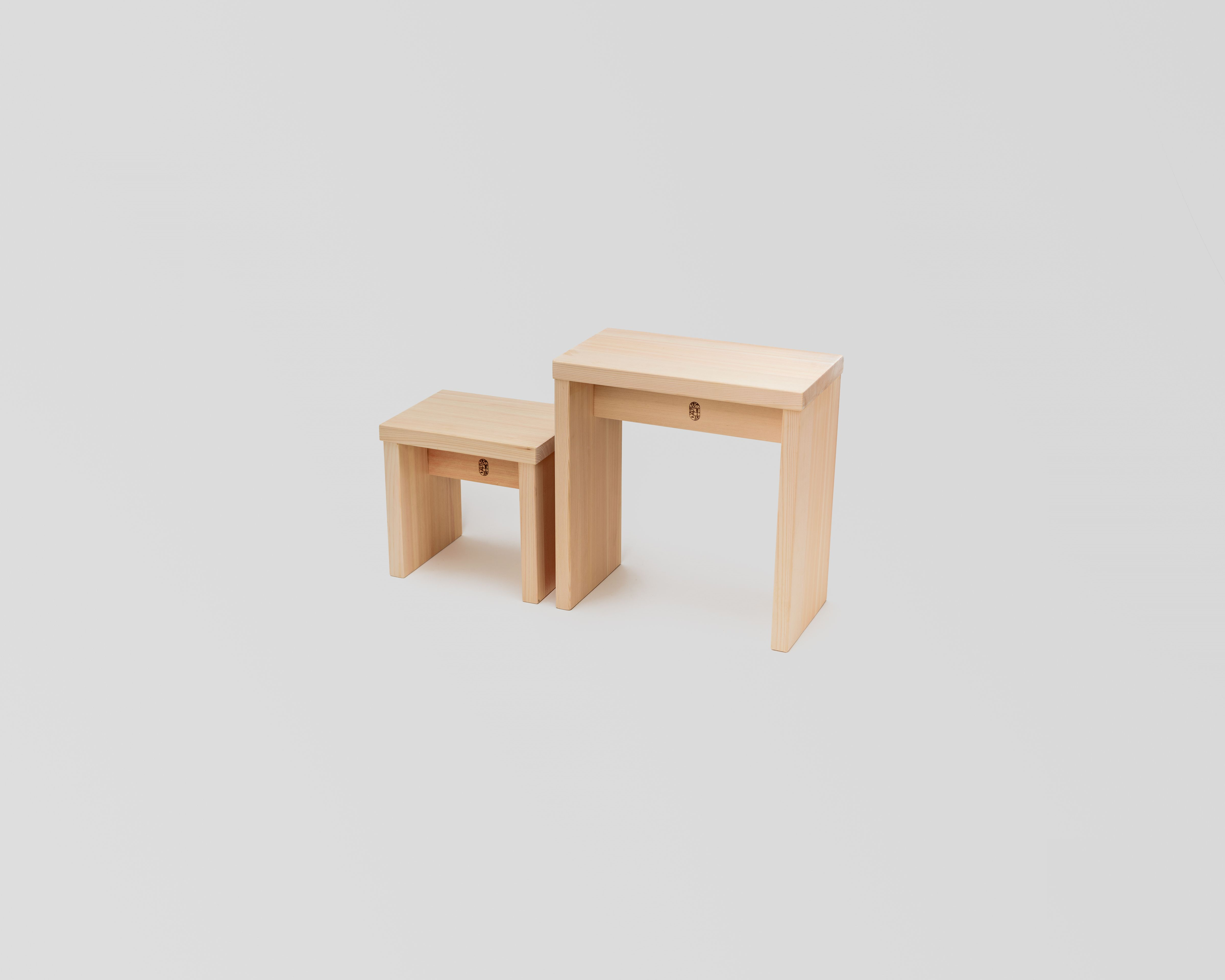 NEW木曽のヒノキでつくった親子風呂椅子04